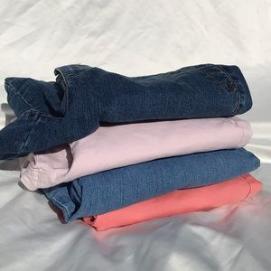 Gloria Vanderbilt Lot Sz 10 Womens Cropped Pants